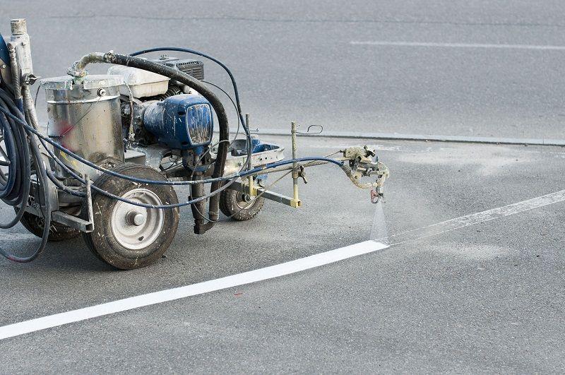 Машина для нанесения дорожной разметки